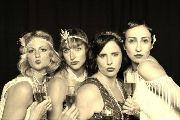 Flappers, Gangsters, Screen Stars, and More Turn Out at the Speakeasy